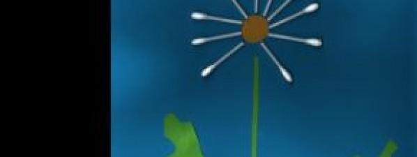 Jarní obrázky nakreslily děti z oddělení Hříbečků a Sluníček